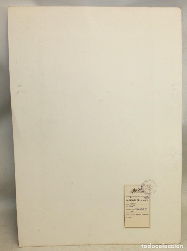Arte: ROSSANO MASSACCESI -ULISSE- (Osimo, 1957) SERIGRAFIA FIRMADA A LÁPIZ TITULADA MOËT. TIRAJE P/A - Foto 5 - 180218946