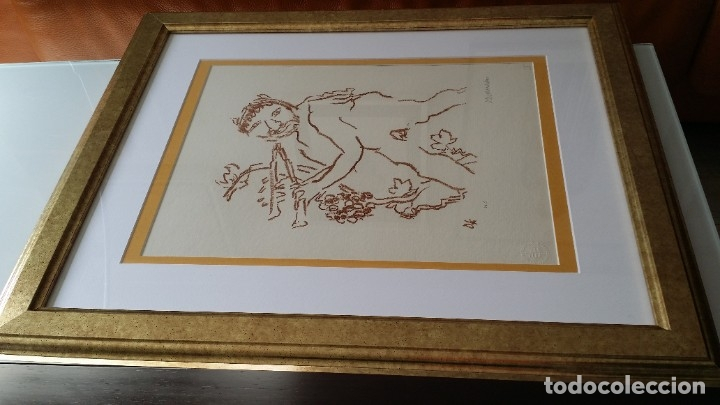 Arte: Oskar Kokoschka: Fauno, litografía firmada y justificada a lápiz. Sellos - Foto 22 - 180336083