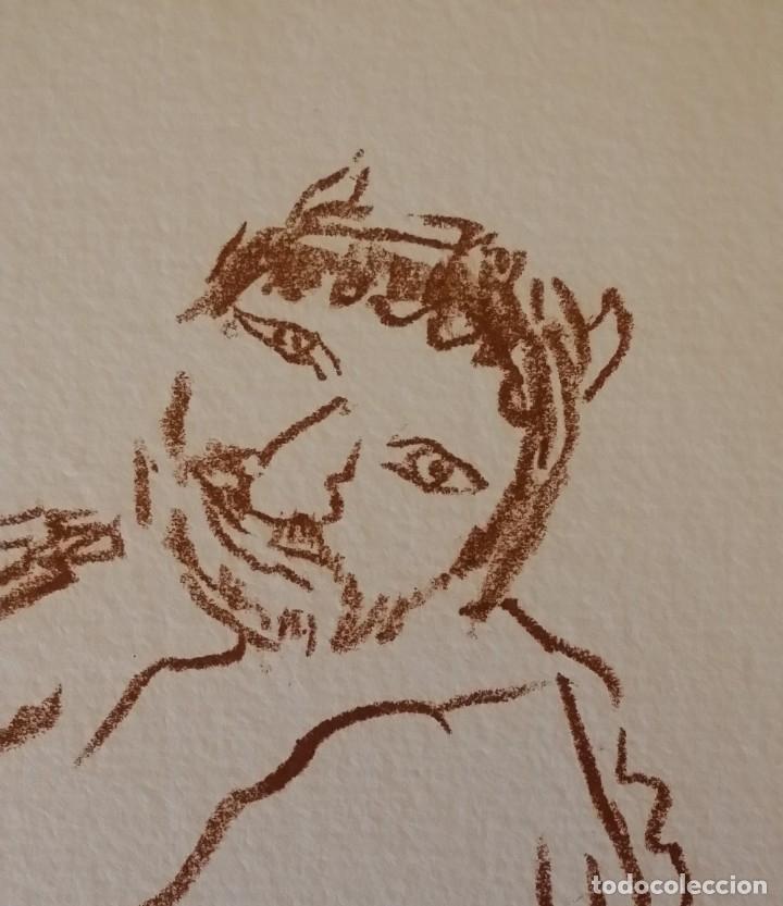 Arte: Oskar Kokoschka: Fauno, litografía firmada y justificada a lápiz. Sellos - Foto 4 - 180336083