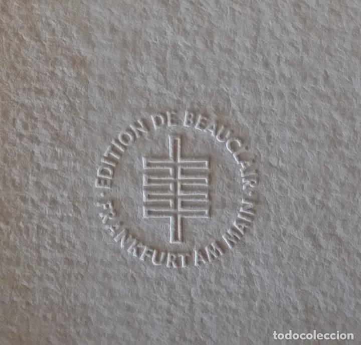 Arte: Oskar Kokoschka: Fauno, litografía firmada y justificada a lápiz. Sellos - Foto 12 - 180336083