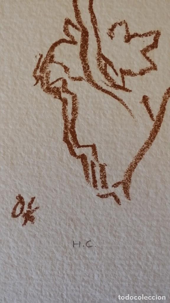 Arte: Oskar Kokoschka: Fauno, litografía firmada y justificada a lápiz. Sellos - Foto 11 - 180336083