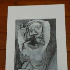 Art: PICASSO PABLO LITOGRAFIA FONDAZIONE FIRMA TAMPONE CERTIFICATO EX. 200. Lote 181145731