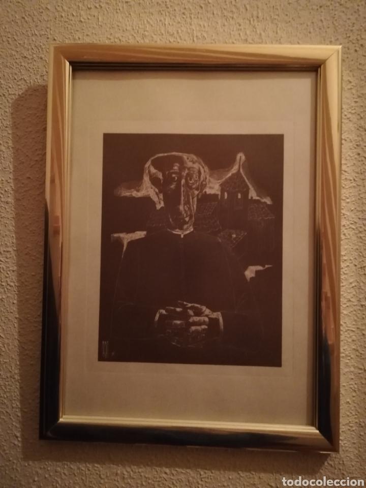 Arte: Pareja Cuadros litografías Alcalde y Cura (Recoger en tienda) - Foto 2 - 181357542