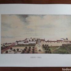 Arte: LAMINA LITOGRAFIA DE PUERTO REAL. VISTA DESDE EL PORVENIR. CÁDIZ. DIBUJO DE L. MARIANI.. Lote 181756050