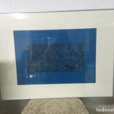 Arte: LITOGRAFÍA FIRMADA POR CRISTINA SICILIA. Lote 182950340