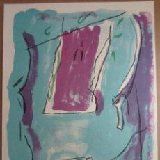 Art: RAFOLS CASAMADA (BARCELONA, 1923-2009) LITO 1988 DE 72X53CMS EN PAPEL DE 76X56, FIRMADO Y 28/75. EN. Lote 183512196