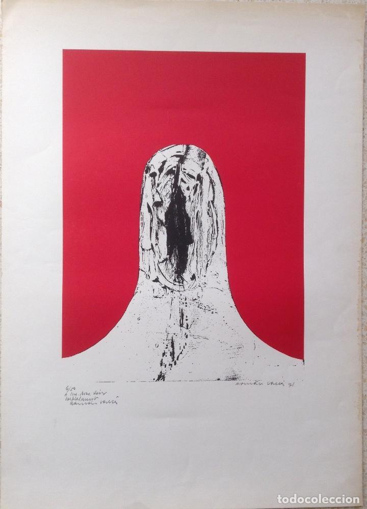 ROMÁN VALLÉS 1923-2015 OBRA DE 1971 SERIE BIOMORFISMES (Arte - Litografías)