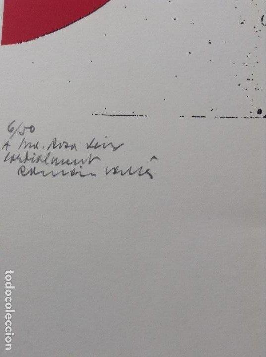 Arte: ROMÁN VALLÉS 1923-2015 OBRA DE 1971 SERIE BIOMORFISMES - Foto 3 - 183618712