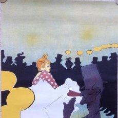 Arte: TOULOUSE-LAUTREC CARTEL IMPR. MOURLOT HENRY DESCHAMPS. Lote 183618968
