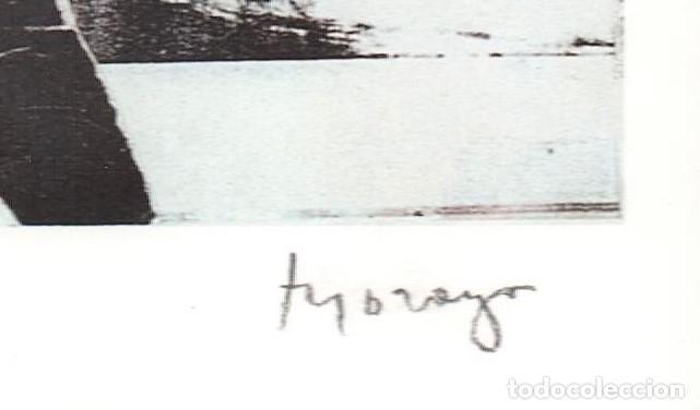 Arte: MORAGO / COMPOSICIÓN. LITOGRAFÍA FIRMADA Y NUMERADA A LÁPIZ XXI / XXX. A ESTRENAR. *( LUTRA, ITALIA - Foto 2 - 24827380