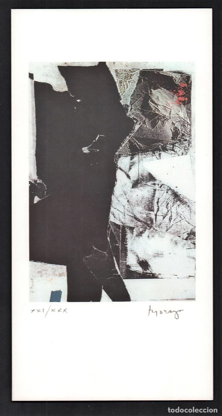 MORAGO / COMPOSICIÓN. LITOGRAFÍA FIRMADA Y NUMERADA A LÁPIZ XXI / XXX. A ESTRENAR. *( LUTRA, ITALIA (Arte - Litografías)