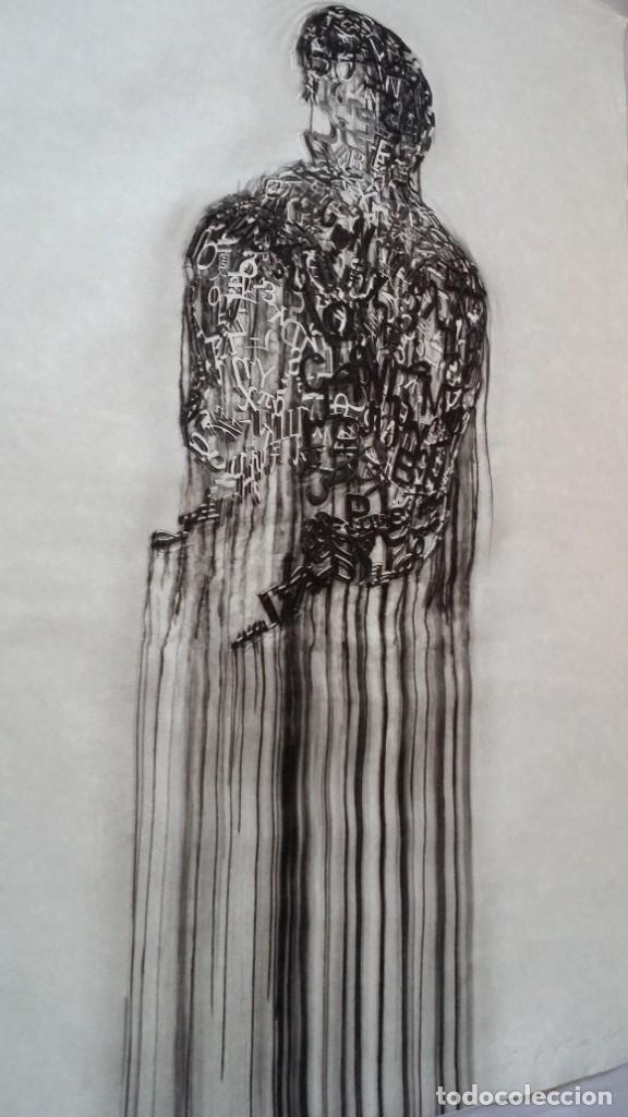 Arte: Jaume PLENSA: grabado técnica mixta, papel Japón, firmado y numerado, 2010 - Foto 18 - 154425042