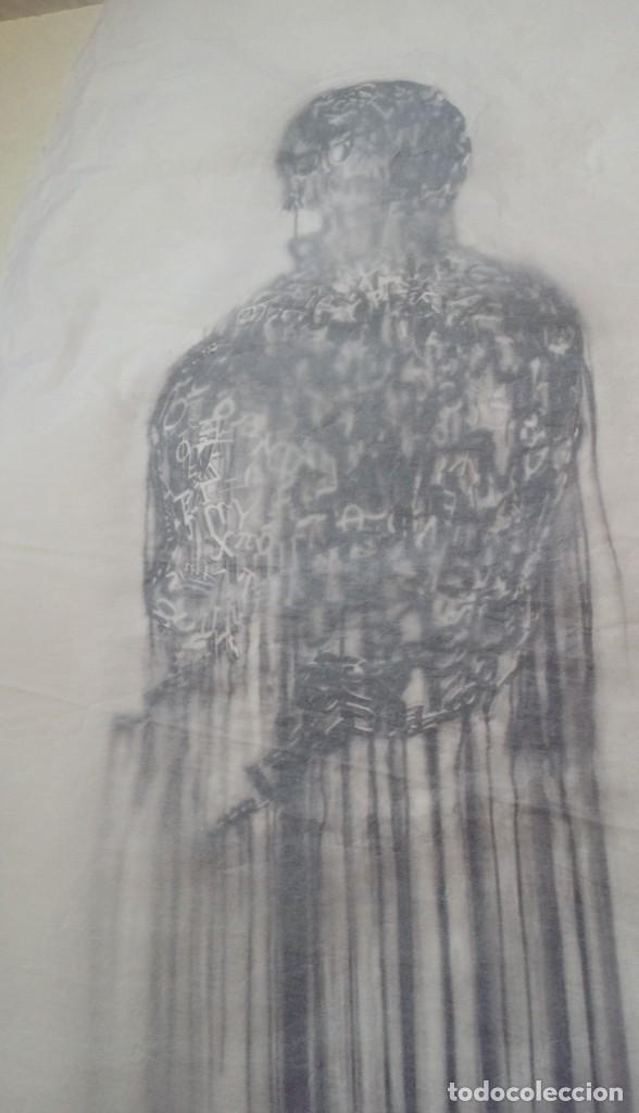 Arte: Jaume PLENSA: grabado técnica mixta, papel Japón, firmado y numerado, 2010 - Foto 3 - 154425042