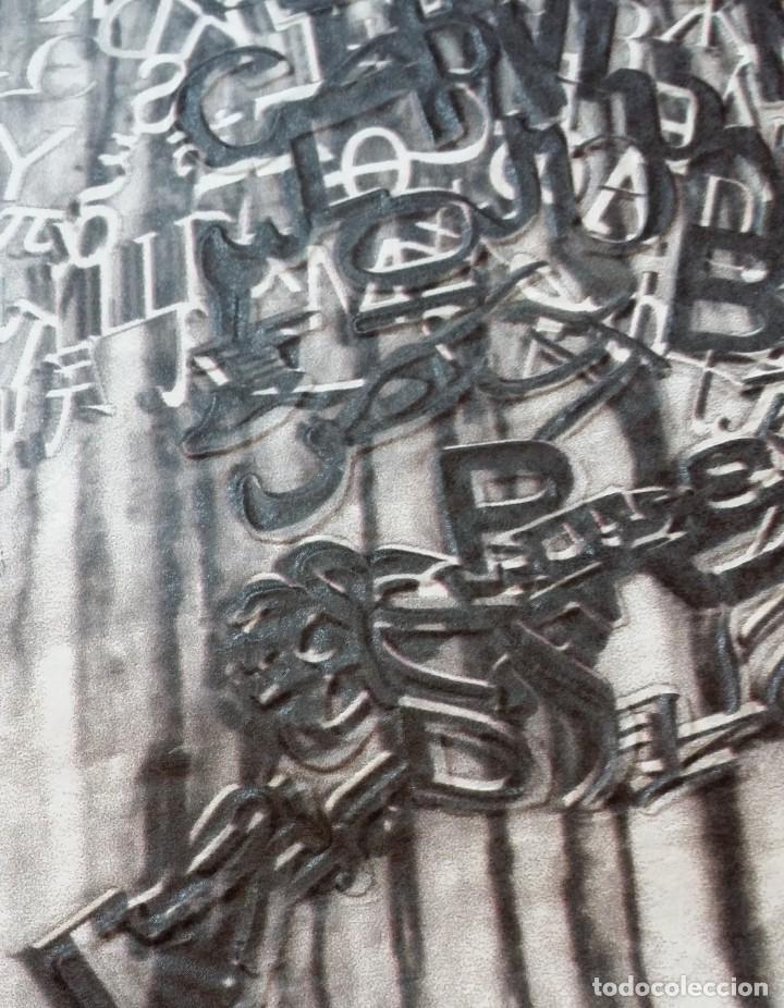 Arte: Jaume PLENSA: grabado técnica mixta, papel Japón, firmado y numerado, 2010 - Foto 10 - 154425042