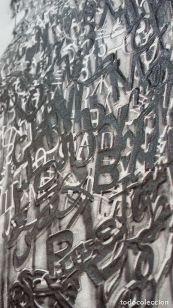 Arte: Jaume PLENSA: grabado técnica mixta, papel Japón, firmado y numerado, 2010 - Foto 12 - 154425042