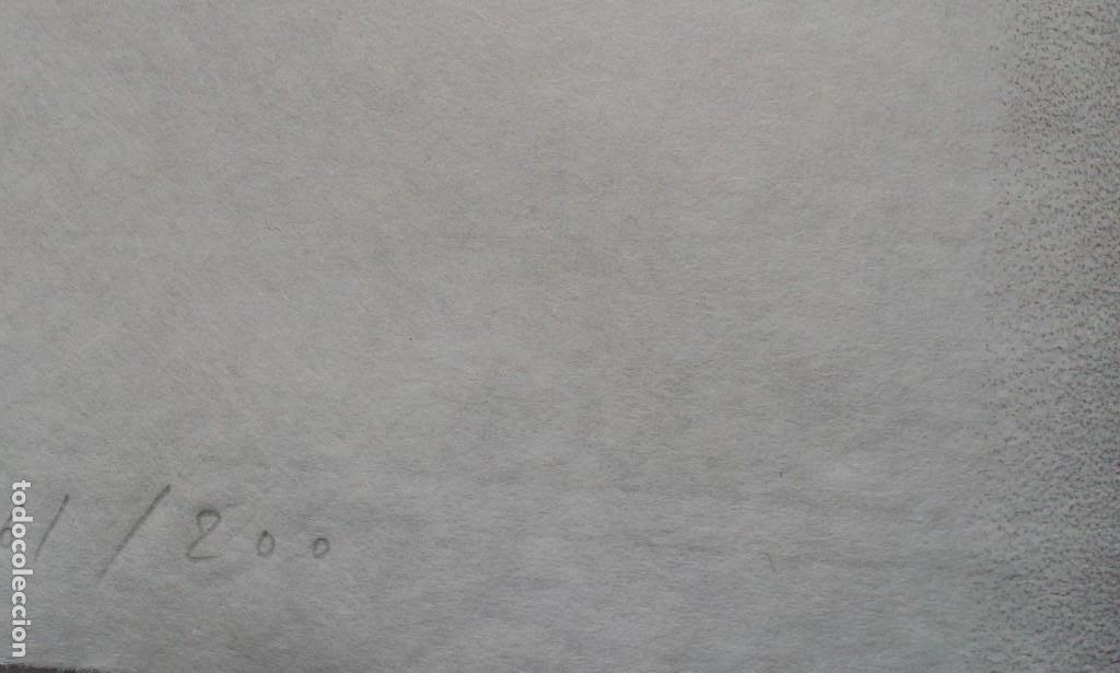 Arte: Jaume PLENSA: grabado técnica mixta, papel Japón, firmado y numerado, 2010 - Foto 16 - 154425042
