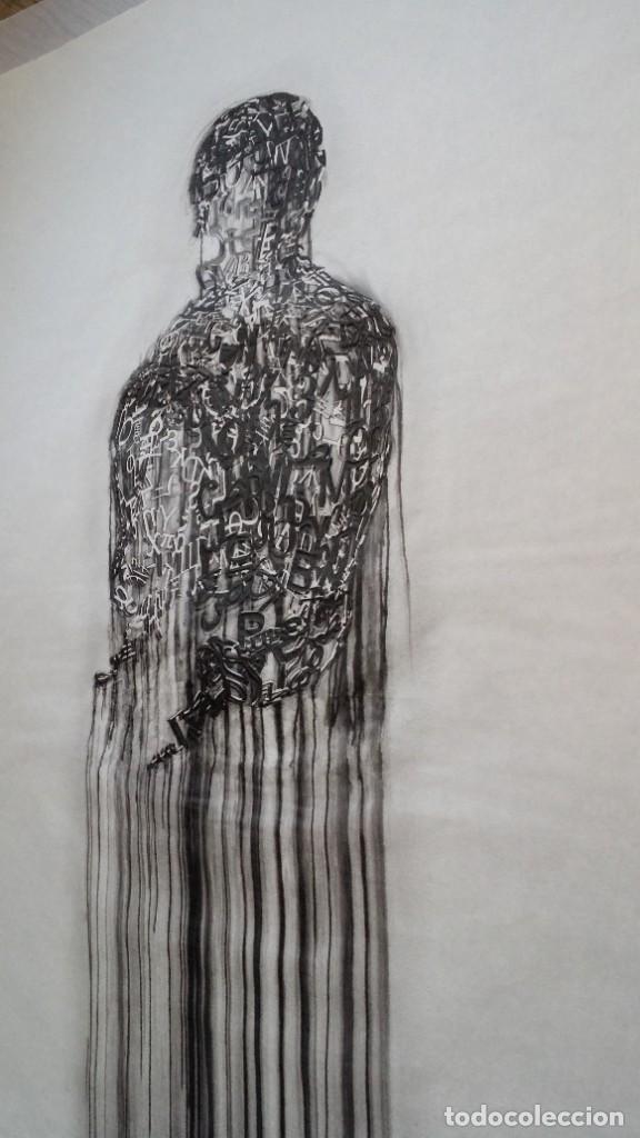Arte: Jaume PLENSA: grabado técnica mixta, papel Japón, firmado y numerado, 2010 - Foto 19 - 154425042