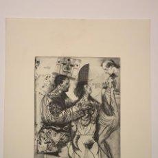 Arte: LITOGRAFIA MIGUEL CONDE. Lote 184315846