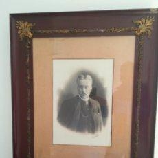 Arte: RETRATO SIGLO XIX POR EL FOTÓGRAFO ESPLUGAS (1852-1928). Lote 184427590