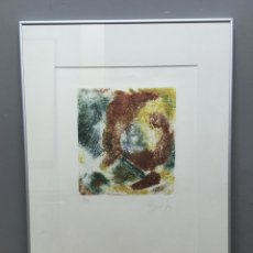 Arte: LITOGRAFÍA FIRMADA. Lote 184436521