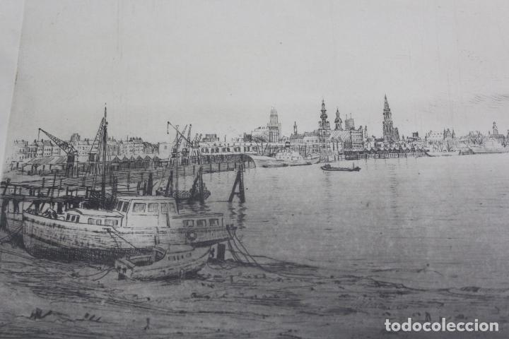 Arte: C-936. LITOGRAFIA FIRMADA Y NUMERADA. S.XX. - Foto 3 - 184622307