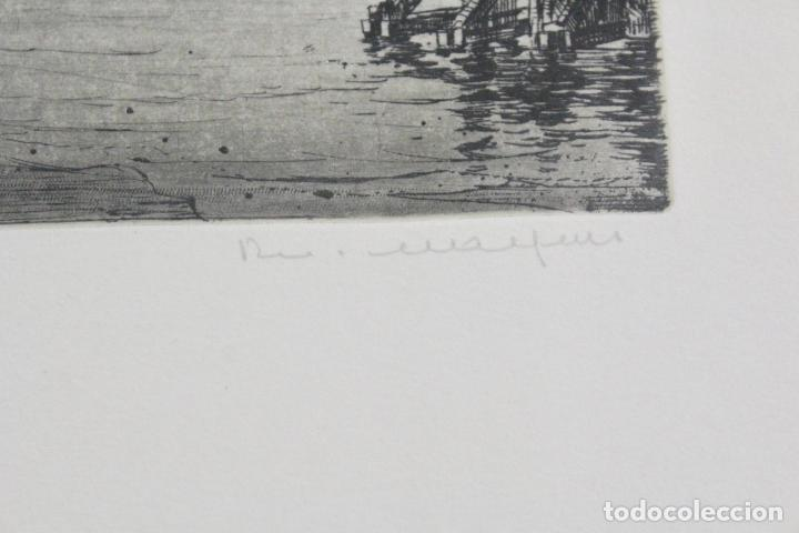 Arte: C-936. LITOGRAFIA FIRMADA Y NUMERADA. S.XX. - Foto 6 - 184622307
