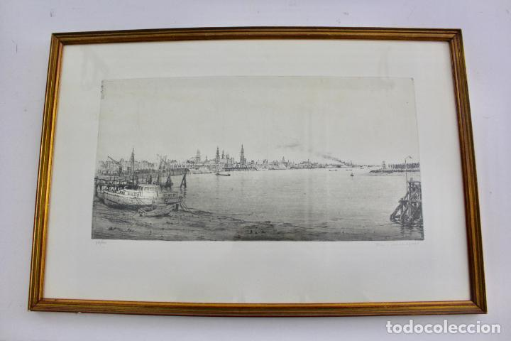 C-936. LITOGRAFIA FIRMADA Y NUMERADA. S.XX. (Arte - Litografías)