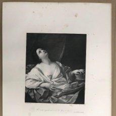 Arte: LITOGRAFIA CLEOPATRA. GUIDO RENNI. SIGLO XIX. Lote 184627902