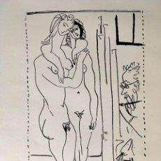 Arte: LITOGRAFIA CON DESNUDOS DE PABLO RUÍZ PICASSO. Lote 184786473