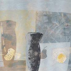 Arte: JOAN DESCARGA (BARCELONA, 1947) - NATURA MORTA.FIRMADA.GRAN FORMATO.1991.. Lote 185694813
