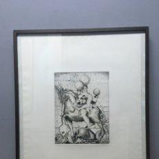 Arte: LITOGRAFÍA FIRMADA POR JOSÉ MARÍA ANDREU MARTI. Lote 185788353