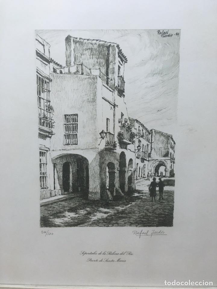Arte: Litografía firmada por Rafael Tardío Alonso - Foto 3 - 185961011