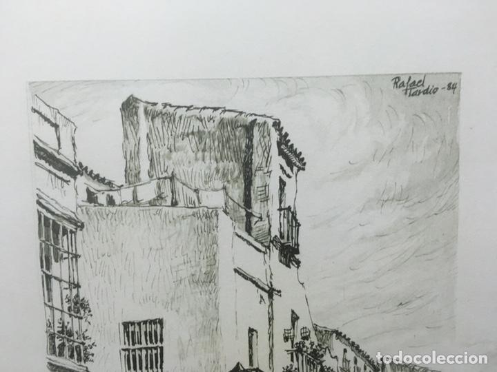 Arte: Litografía firmada por Rafael Tardío Alonso - Foto 4 - 185961011