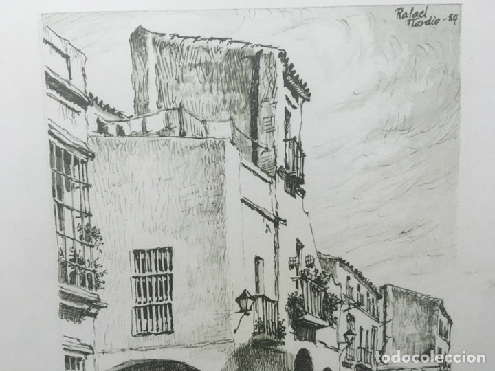 Arte: Litografía firmada por Rafael Tardío Alonso - Foto 5 - 185961011