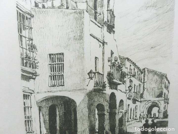 Arte: Litografía firmada por Rafael Tardío Alonso - Foto 6 - 185961011