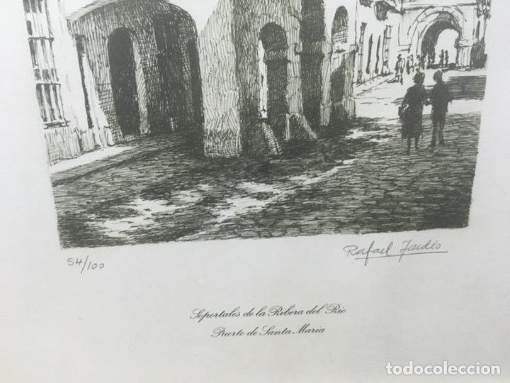 Arte: Litografía firmada por Rafael Tardío Alonso - Foto 8 - 185961011