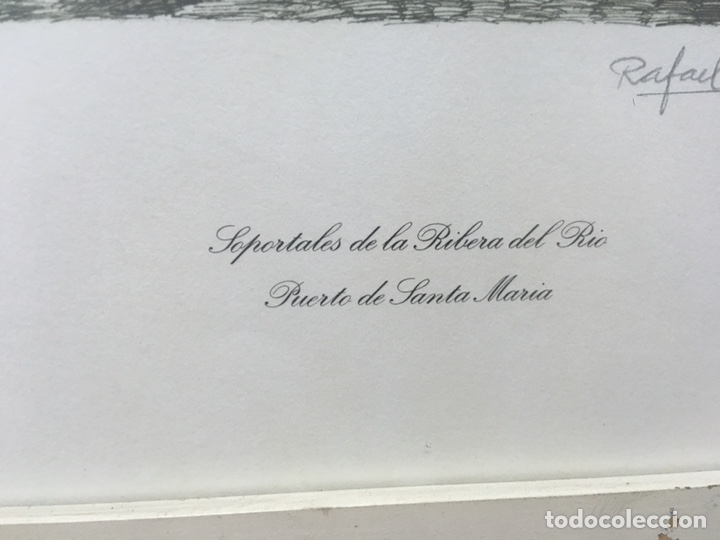 Arte: Litografía firmada por Rafael Tardío Alonso - Foto 11 - 185961011
