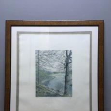 Arte: LITOGRAFÍA FIRMADA. Lote 185984642