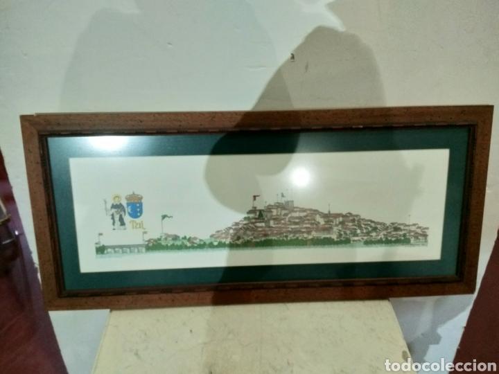 Arte: Litografía ciudad de Tui, Chencho Pardo Valdes - Foto 2 - 186205156