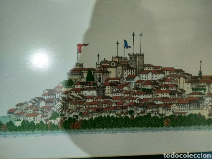 Arte: Litografía ciudad de Tui, Chencho Pardo Valdes - Foto 3 - 186205156