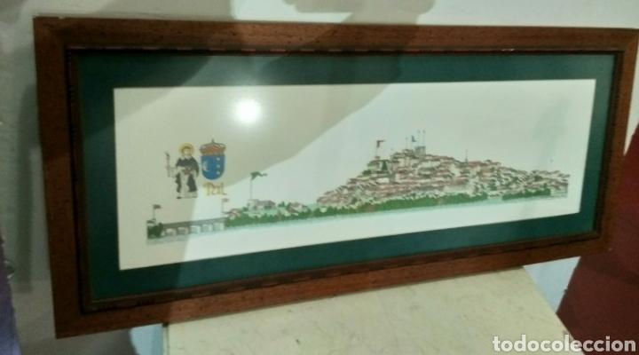 Arte: Litografía ciudad de Tui, Chencho Pardo Valdes - Foto 6 - 186205156