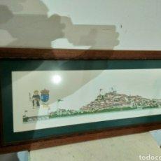 Arte: LITOGRAFÍA CIUDAD DE TUI, CHENCHO PARDO VALDES. Lote 186205156