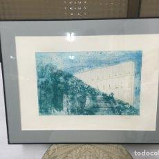 Arte: LITOGRAFÍA FIRMADA POR I SOPRANIS. Lote 187094588