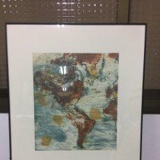 Arte: LITOGRAFÍA/ AGUAFUERTE FIRMADA POR ELENA JIMÉNEZ. Lote 187194798