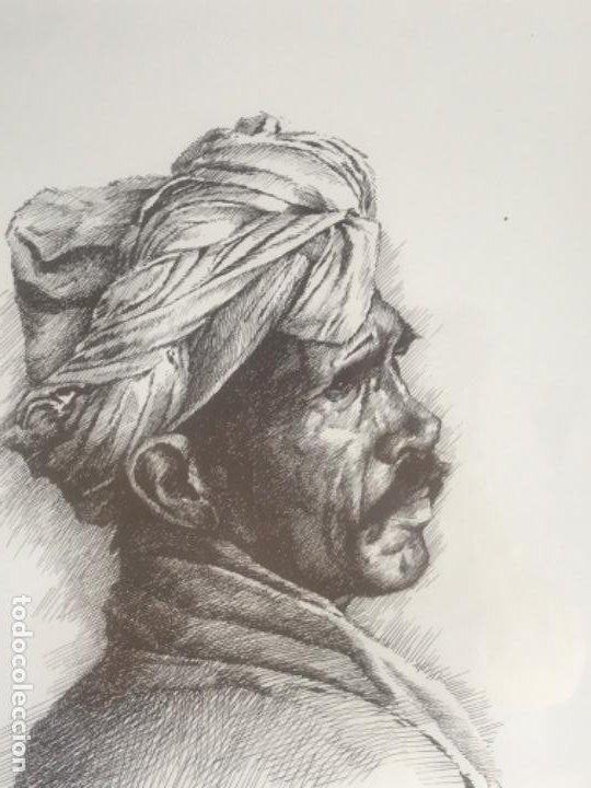 Arte: LITOGRAFÍA DE GERMÁN ARACIL FIRMADA Y NUMERADA DE PUÑO Y LETRA 82/150. - Foto 3 - 187301702