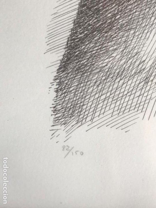 Arte: LITOGRAFÍA DE GERMÁN ARACIL FIRMADA Y NUMERADA DE PUÑO Y LETRA 82/150. - Foto 4 - 187301702