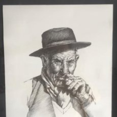 Arte: LITOGRAFÍA DE GERMÁN ARACIL FIRMADA Y NUMERADA DE PUÑO Y LETRA 82/150.. Lote 187302220