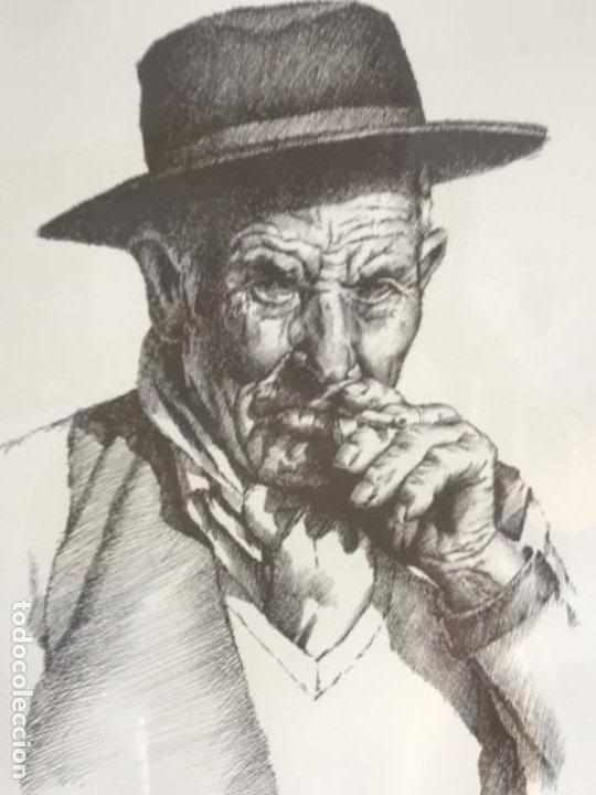 Arte: LITOGRAFÍA DE GERMÁN ARACIL FIRMADA Y NUMERADA DE PUÑO Y LETRA 82/150. - Foto 6 - 187302220