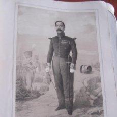 Arte: LITOGRAFÍA - BRIGADIER DE INFANTERÍA D. FRANCISCO GARRIDO - 18... ESTADO MAYOR EJERCITO. Lote 187440371