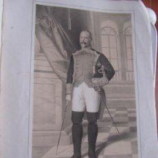 Arte: LITOGRAFÍA - BRIGADIER DE INFANTERÍA FRANCISCO DE CARRIÓN - 18... ESTADO MAYOR EJERCITO. Lote 187443140